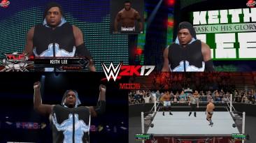 "WWE 2K17 ""Keith Lee WWE 2K19 Port MOD"""