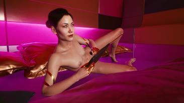 "Cyberpunk 2077 ""Исправленное тело Ханако Арасаки"""