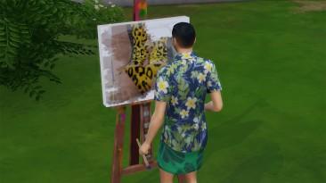 "The Sims 4 ""Мод на рисование картин для взрослых"""