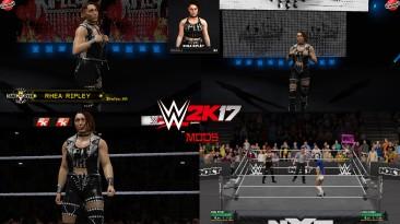 """WWE 2K17 """"Rhea Ripley WWE 2K19 Port MOD"""""""