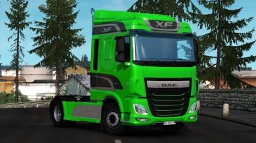 "Euro Truck Simulator 2 ""Звуковой мод для Daf xf от 15.03.2021 (1.40)"""