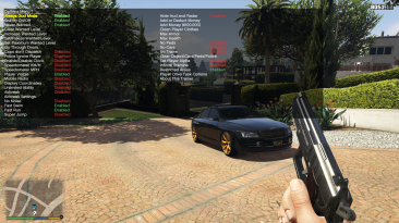 Grand Theft Auto 5 (GTA V): Чит-Мод/Cheat-Mode (Simple Trainer v12.4)