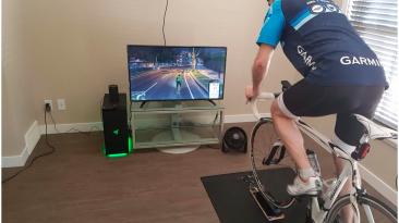 Тренировки на велотренажёре в GTA 5