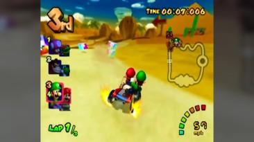 Эволюция графики в Mario Kart