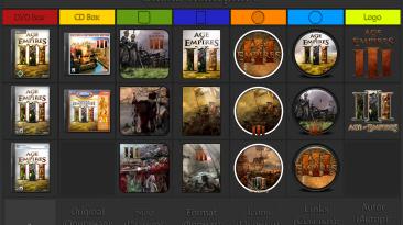 "Age Of Empires 3 ""Иконки (ArtGamer)"""