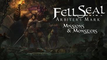 "Скоро выйдет расширение ""Missions and Monsters"" для Fell Seal: Arbiter's Mark"