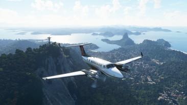 Патч 1.16.2.0 для Microsoft Flight Simulator уменьшает размер файлов с 170 ГБ до 83 ГБ