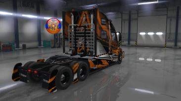 """ATS """"Исправленный тюнинг для грузовика Volvo VNL 2018 от автора Tom Dooley"""""""