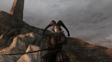 "Dark Souls 2 ""Black Jester Set & Manslayer - Bankai Katana"""