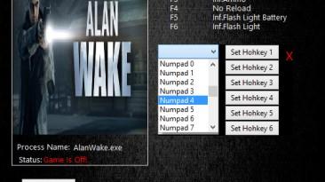 Alan Wake: Трейнер/Trainer (+6) [1.06.17] {MrAntiFun}