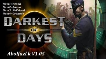 Darkest of Days: Трейнер/Trainer (+4) [1.05] {Abolfazl.k}