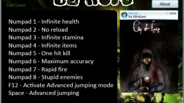Half-Life - Cry of Fear: Трейнер/Trainer (+9) [1.2] {ACID}