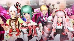 Phantasy Star Online 2 представляет новую коллекцию Sweet Romance ко Дню святого Валентина