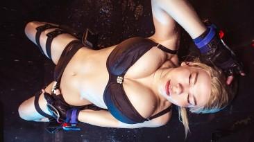Косплей Сони Блейд из Mortal Kombat 11