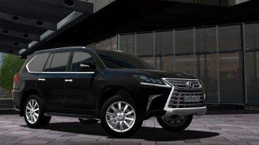 "City Car Driving ""Lexus LX570 2017 (v1.5.8 - 1.5.9.2)"""