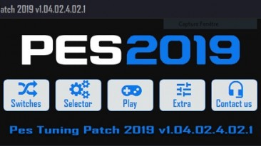 "Pro Evolution Soccer 2019 ""PES Tuning Patch 2019 v1.04.02.4.02.1"""