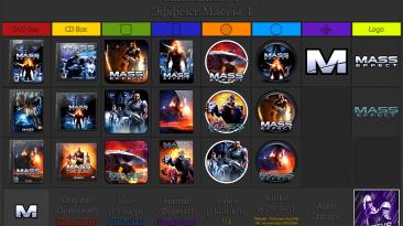 """Mass Effect """"Иконки (ArtGamer)"""""""
