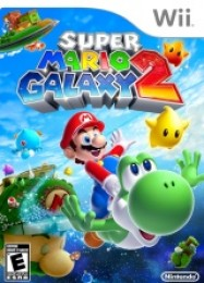 Обложка игры Super Mario Galaxy 2