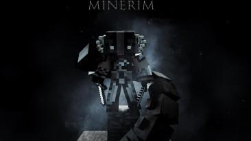 Minecraft Skyrim Edition Дебютный трейлер