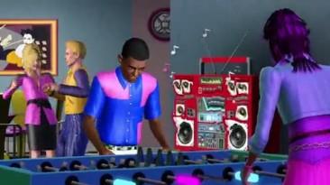 "The Sims 3: 70s, 80s, & 90s Stuff Pack ""Трейлер анонса"""