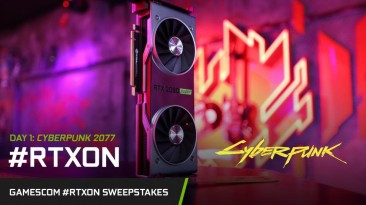 NVIDIA рекламирует GeForce RTX с помощью Cyberpunk 2077