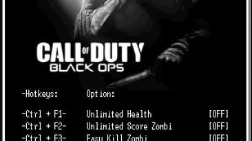 Call of Duty - Black Ops: Трейнер/Trainer (+9) [v.0.305-05.125430.1] {LIRW / GHL}