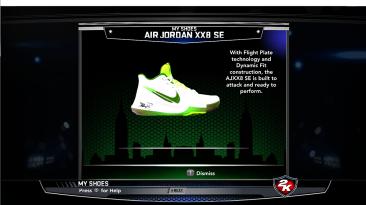 "NBA 2K14 ""Kyrie 3 apple green"""