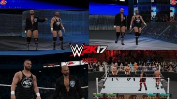 "WWE 2K17 ""The Revival TLC 2019 Attire WWE 2K19 Port MOD"""