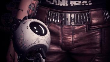 "Cyberpunk 2077 ""Прикрепленный компаньон Дрон v1.0"""