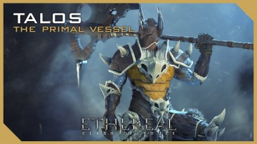 Талос и его огромный боевой топор в Ethereal: Clash of Souls