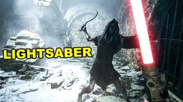 В Resident Evil Village есть секретный световой меч из Звездных войн