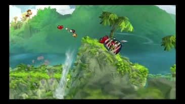 Прохождение Rayman Origins #1 Начало