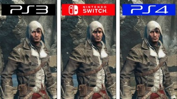 Сравнение Assassin's Creed Rogue - Switch vs. PS4 vs. PS3