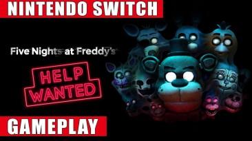 Геймплей Switch-версии Five Nights at Freddy's: Help Wanted