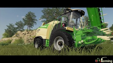 Farming Simulator 19 - Уборка кукурузы для завода биогаза.