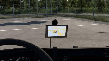 """Euro Truck Simulator 2 """"Garmin 50LMT Навигатор v1.4 (v1.40.х)"""""""