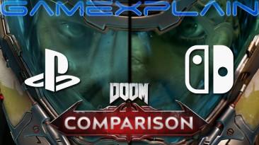 Doom Eternal вышла на Nintendo Switch - появились первые сравнения графики