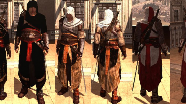 """Assassin's Creed: Brotherhood """"altair costumes pack"""""""