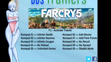 Far Cry 5: Трейнер/Trainer (+10) [1.2.0] {BooBoo}