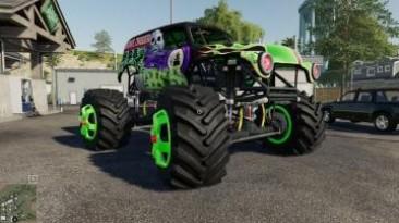 "Farming Simulator 19 ""Мод Grave Digger v1.0"""