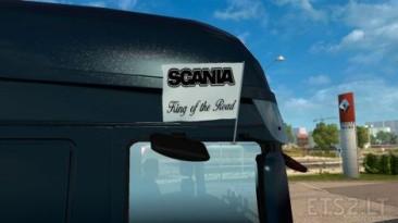 "Euro Truck Simulator 2 ""Пак флагов и вымпелов с символикой Scania от CrowerCZ"""