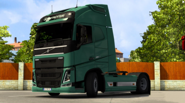 "Euro Truck Simulator 2 ""Низкая Подвеска для Volvo FH16 2012 v1.0 (1.41.x)"""