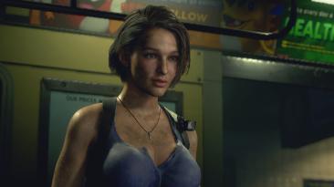 """Resident Evil 3 """"Немного увеличенное покачивание груди Джилл"""""""