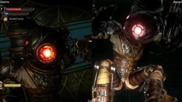 Сравнение графики - Bioshock 2 E3 2009 Demo vs Retail Xbox 360