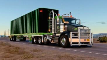 """American Truck Simulator """"Прицеп Dorsey Chipvan в собственность (1.40.x)"""""""