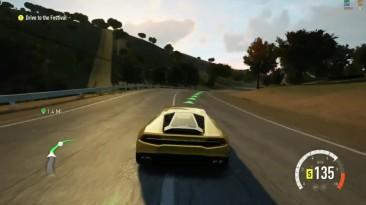 Геймплей Forza Horizon 2 на эмуляторе Xenia