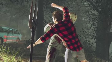 Friday the 13th: The Game - 2 новых убийства оружием Вилы