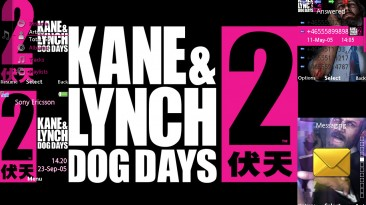 "Kane & Lynch 2: Dog Days ""Тема 240x320 SE"""
