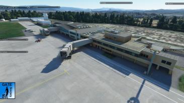 Новые скриншоты аэропорта Детектива Конана для Microsoft Flight Simulator