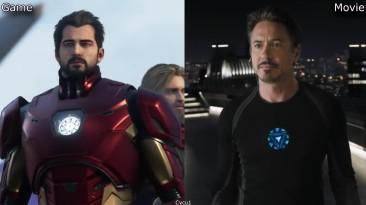 Marvel's Avengers - Сравнение персонажей в игре и фильме